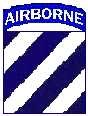 The Symbol of the 3rd Infantry's contribution to America's AIRBORNE combat team