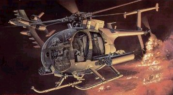 A/MH-6 'Little Bird' helicopter